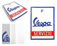 Libreta Vespa Servizio